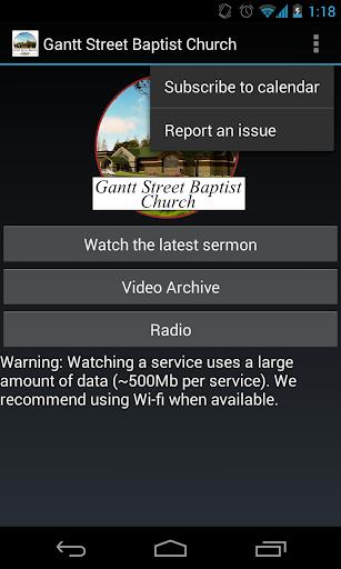 Gantt Street Baptist Church