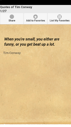 Quotes of Tim Conway