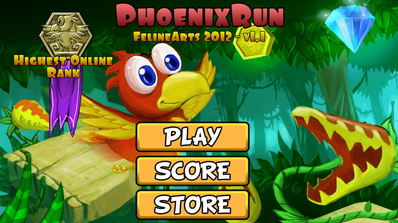 Phoenix Run: captura de pantalla
