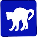 Play with cat icon