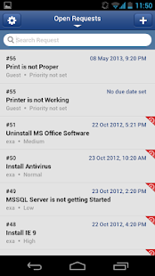 ServiceDesk Plus - screenshot thumbnail