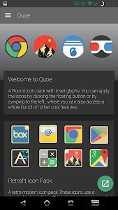 Quoe Icon Pack screenshot 2