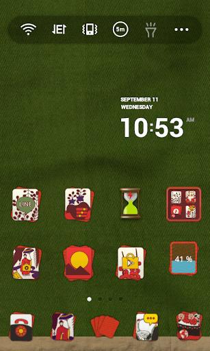 【免費個人化App】Card Playing Dodol Theme-APP點子