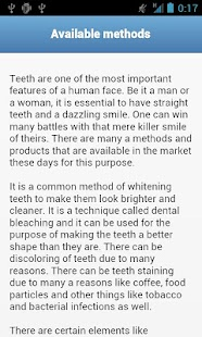 Teeth Whitening Tips - screenshot thumbnail