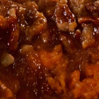 Aunt Peggy's sweet potato souffle