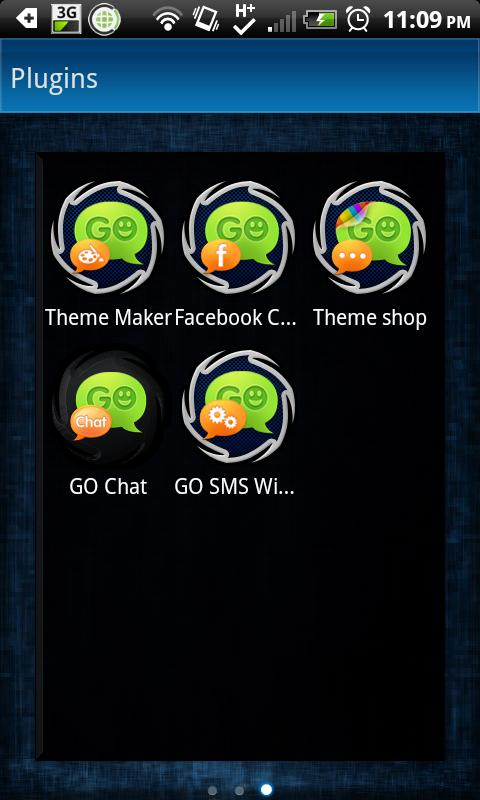 GO SMS THEME|Lucid - screenshot