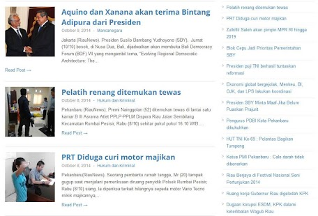 RiauNews Media Online- screenshot thumbnail