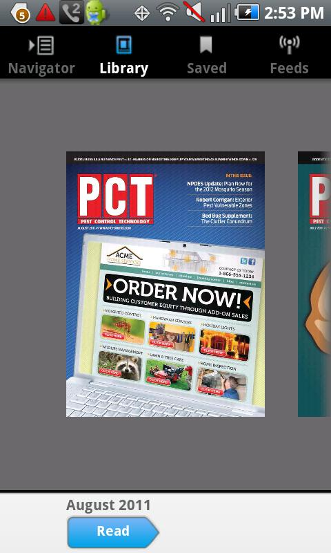 Pest Control Technology Mag - screenshot