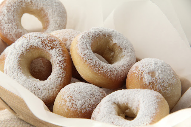 Fresh Homemade Donuts Recipe