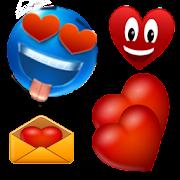 emoticons love plus