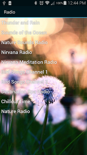 【免費娛樂App】Nature Sounds & Radio Free-APP點子