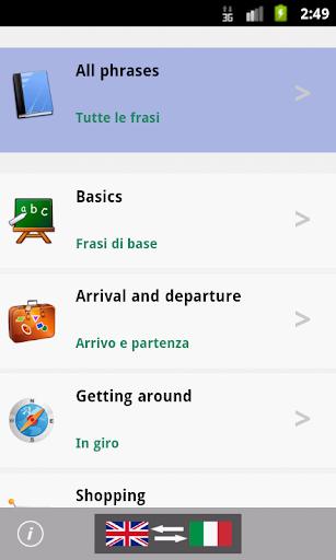 Italian Talking Phrasebook