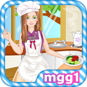 Fashionable Cooking Girl icon