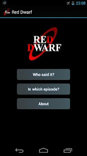 Red Dwarf Quiz - screenshot thumbnail
