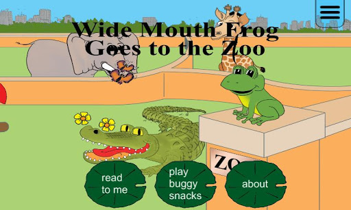 Wide Mouth Frog Storybook Free