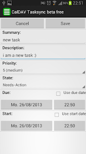 CalDAV Tasksync beta - screenshot thumbnail