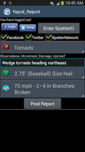 Rapid Report for Storm Chasers - screenshot thumbnail