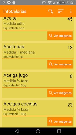 InfoCalorias