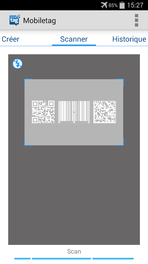 Mobiletag QR & product Scanner - screenshot