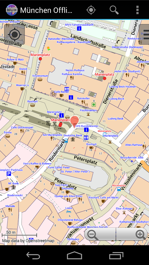 Munich Offline City Map Lite- screenshot