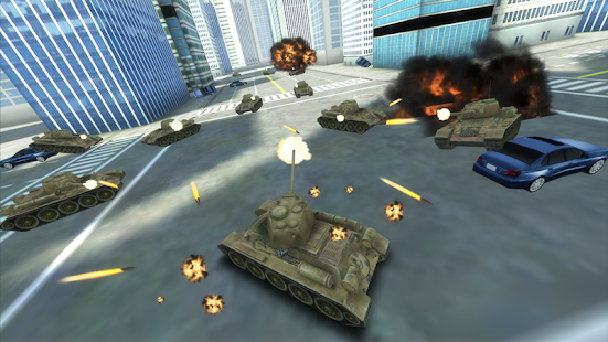 GT Tank vs New York - screenshot thumbnail