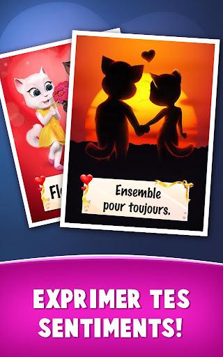 Lettres d'amour de Talking Tom  captures d'u00e9cran 7