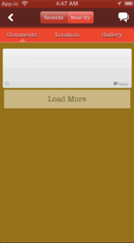 Screenshots for KL Foote Law Firm Mobile App