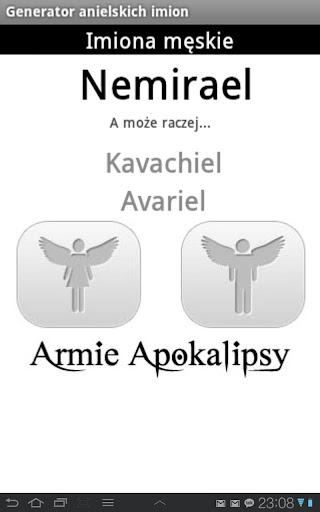 Anielskie Imiona