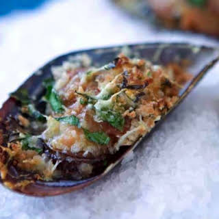 Mussels With Pancetta And Vermouth.