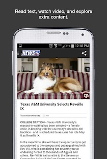 KBTX News- screenshot thumbnail