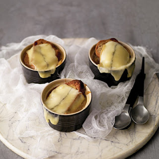 Morbid Miniature French Onion Soups.