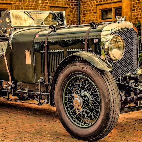 8 litre Bentley  by Ian Flear - Transportation Automobiles