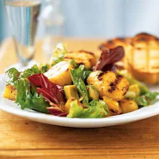 Caribbean Grilled Scallop Salad.