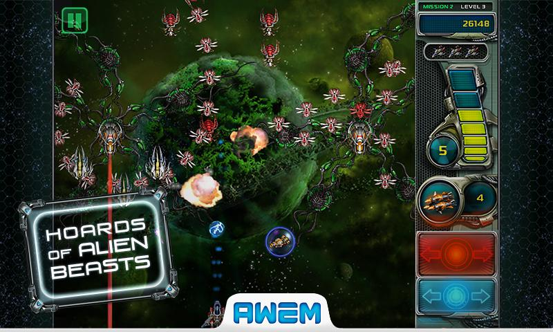 Star Defender 3™. - screenshot