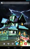 Screenshot of UR 3D Haunted House Live Theme