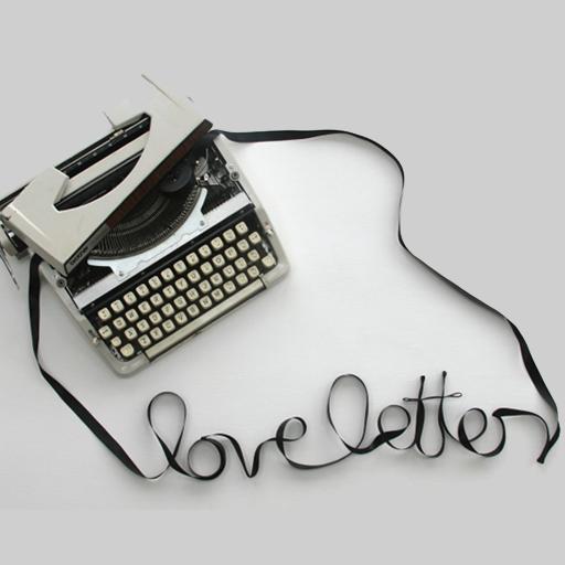رسائل حب مكتوبة