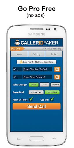 Caller ID Faker Recorder App
