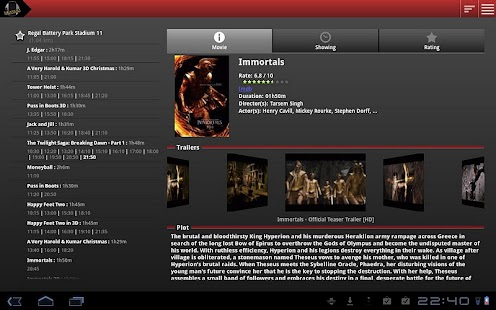 CineShowTime theater - screenshot thumbnail