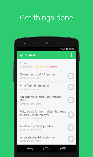 The best free Android to-do list and task list app: Todoist