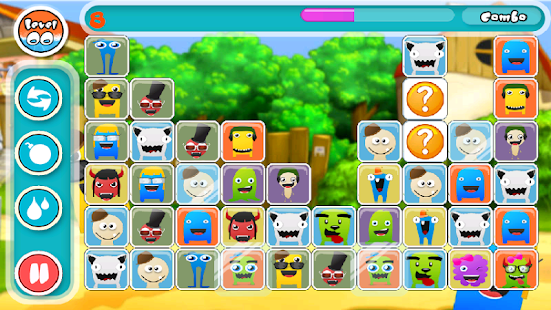 Cute Monsters Match Link Game- screenshot thumbnail