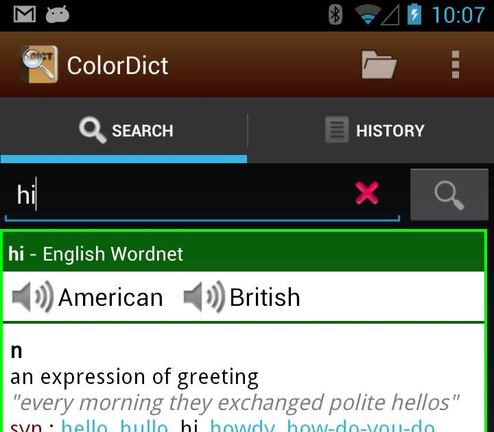 ColorDict Dictionary Wikipedia v3 1 6 (Android 2 1+) Android