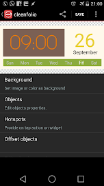 Ultimate custom widget (UCCW) Screenshot 2