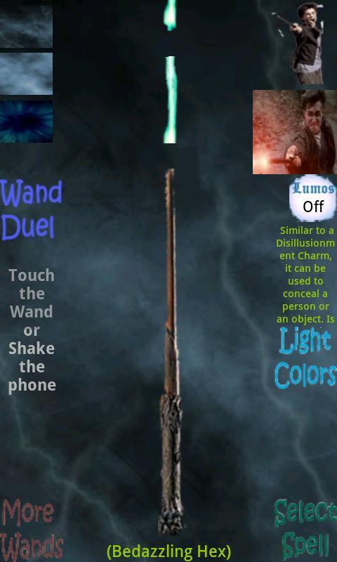 Harry Potter's Wand - screenshot