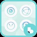 Aqua Buzz Launcher Theme icon