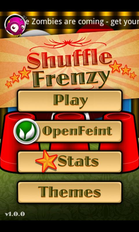 ShuffleFrenzy- screenshot