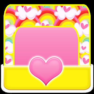 THEME - Hearts N Rainbow