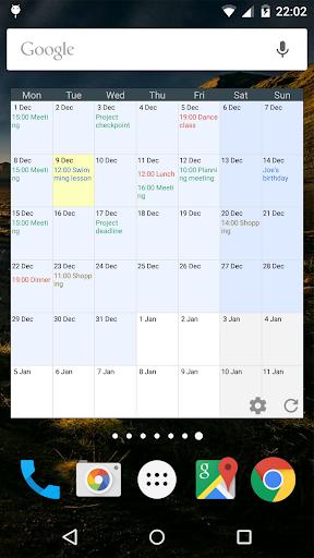 Touch Calendar Free  screenshots 5