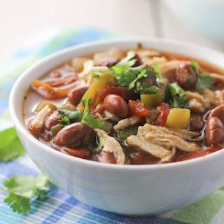 Crock Pot Chicken Chili.