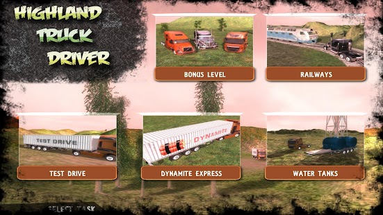 Highland Truck Driver Car Sim 賽車遊戲 App-愛順發玩APP