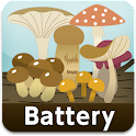 Mushroom Battery level widget logo